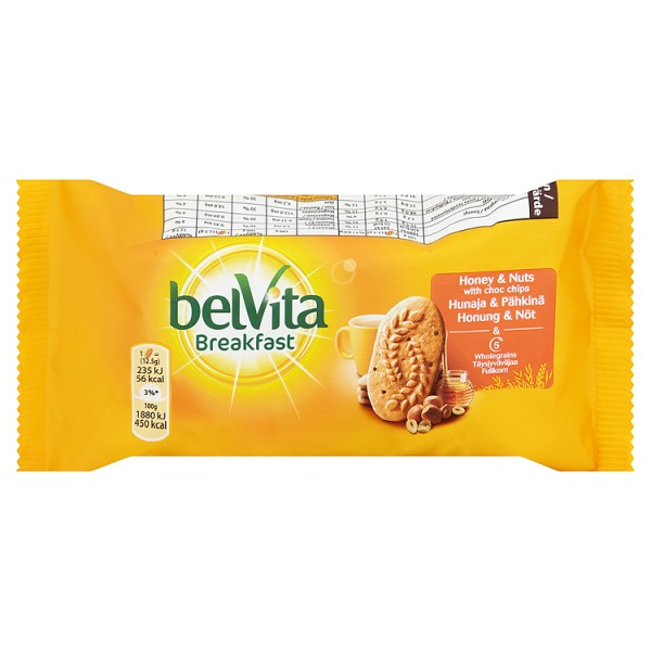 Belvita Honey&Nuts Bars