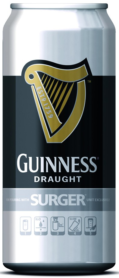 Guinness Surger Cans