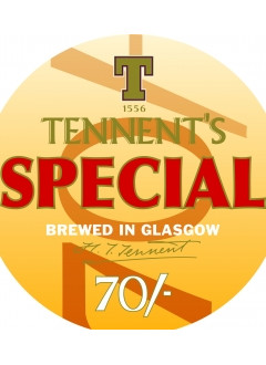 Tennents Special 70/- Keg