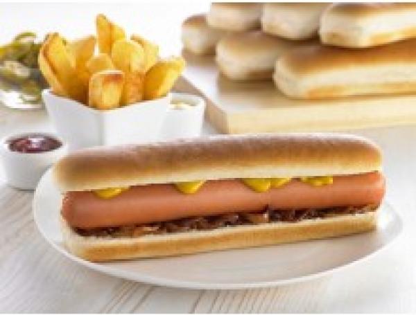 Side Sliced Hot Dog Roll