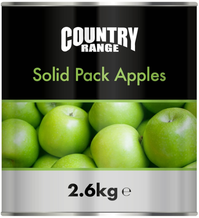 CRG Solid Pack Apples