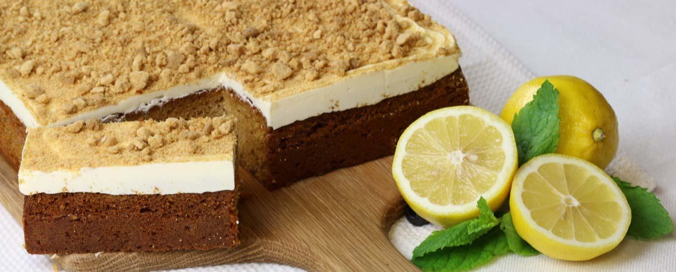 Ginger & Lemon Traycake