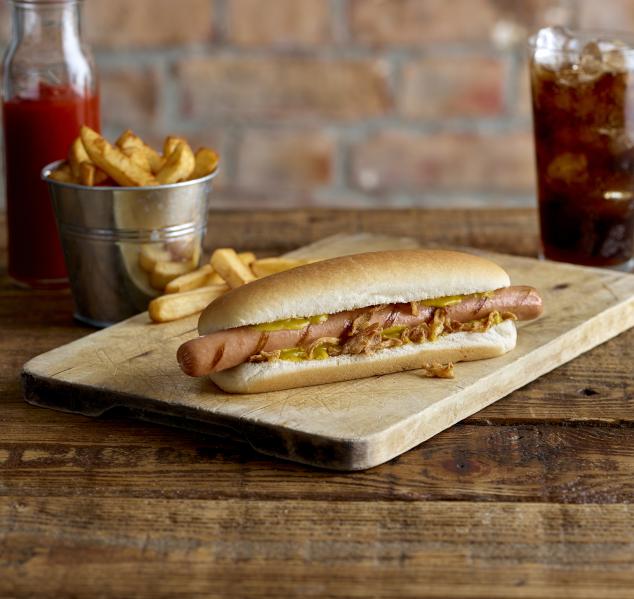 "6"" Hot Dog Roll(S/Sliced)"