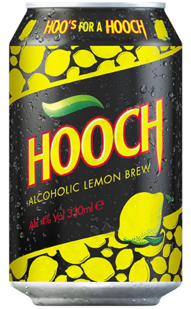 Hooch Lemon Cans