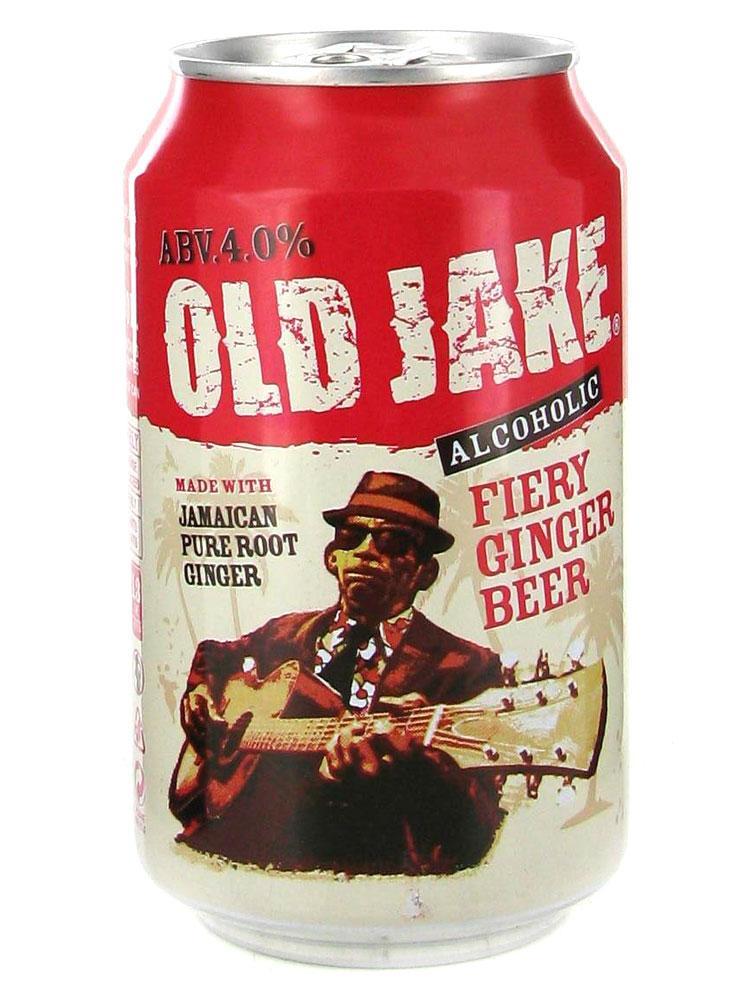 Old Jake Ginger Beer Can