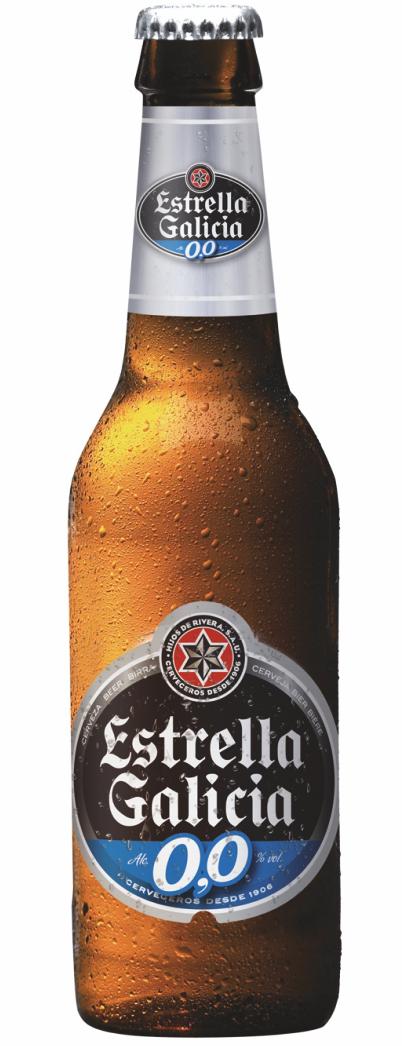 Estrella Galicia 0% ABV