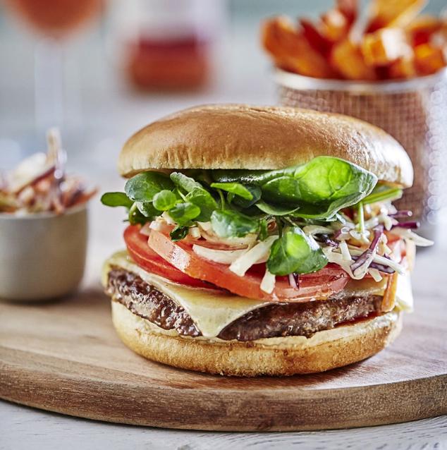 100% 4oz Burger