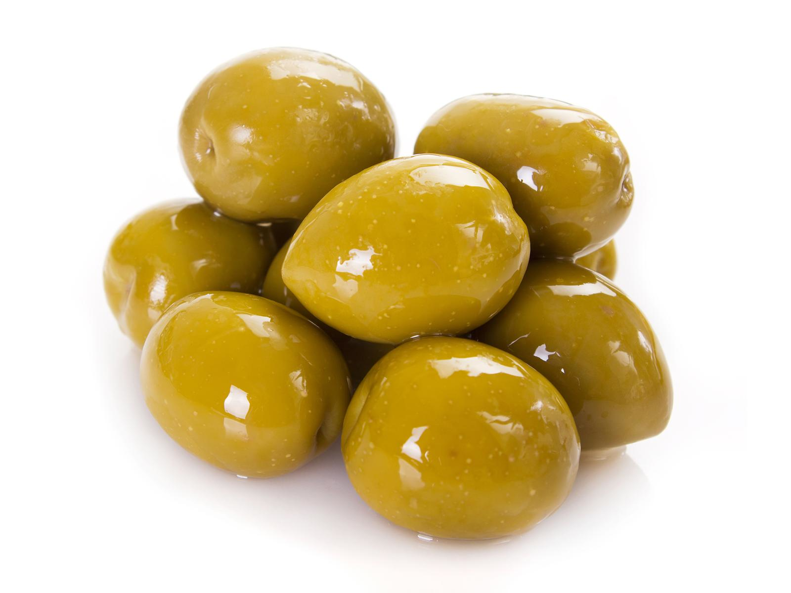 Whole Green Olive W/Stone
