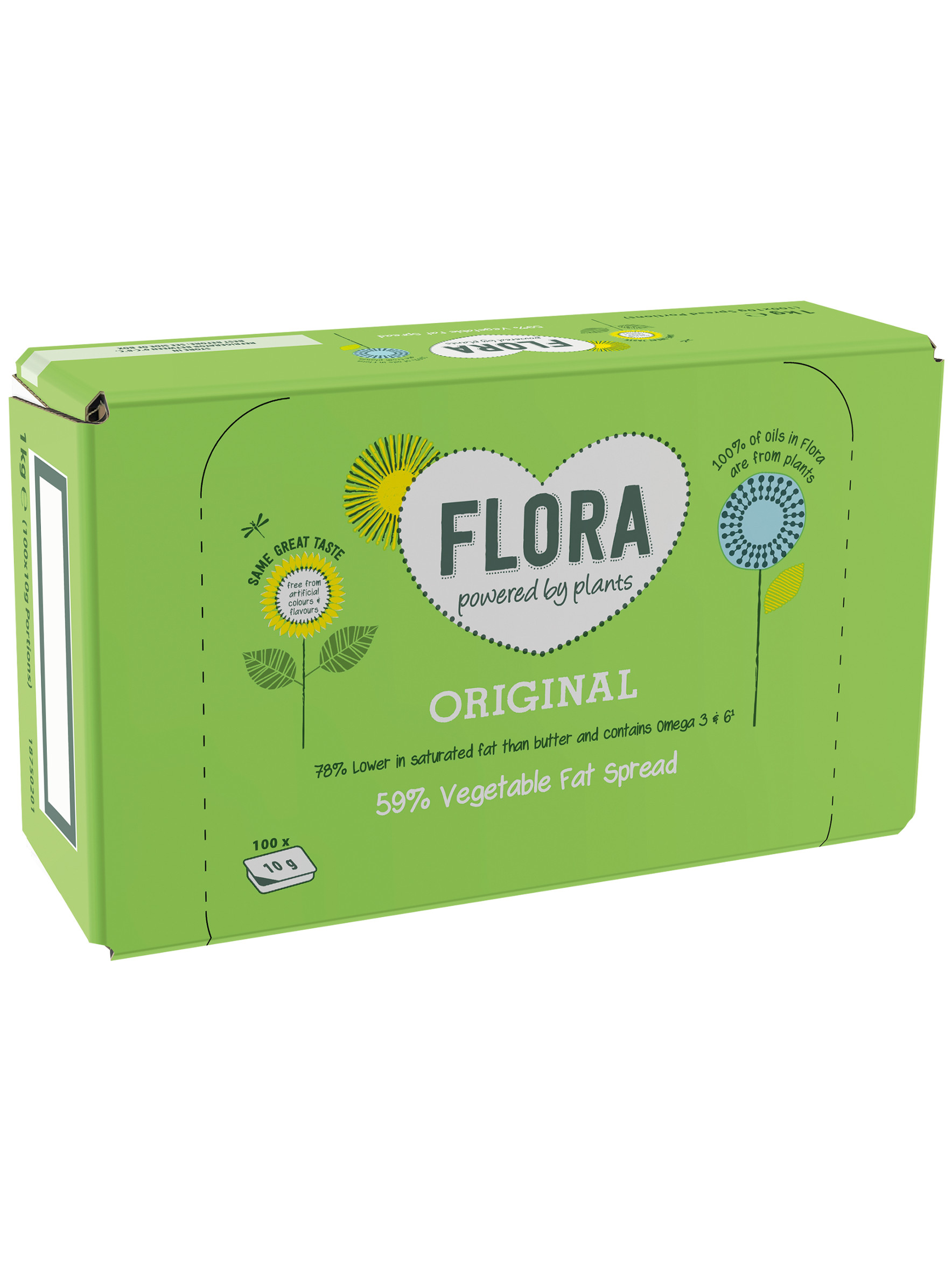 Flora Spread Portions
