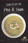 Chilled Pea & Ham Soup