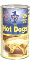 Westler Jumbo Hot Dog 104