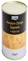Country Range Mandarin Orange Segments in Light Syrup