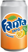 Fanta Orange Zero Can