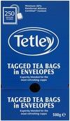 Tetley Tea Envelopes