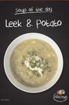 Chilled Leek Potato Soup