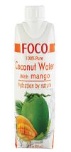 Foco Natural Mango Water