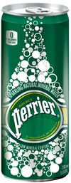 Perrier Cans