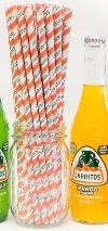 Jarritos Branded Straws