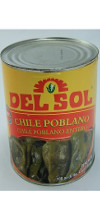 Del Sol Whole Poblano Peppers