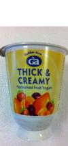 G/A Thick Creamy Yoghurts
