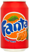 Fanta Fruit Twist Cans