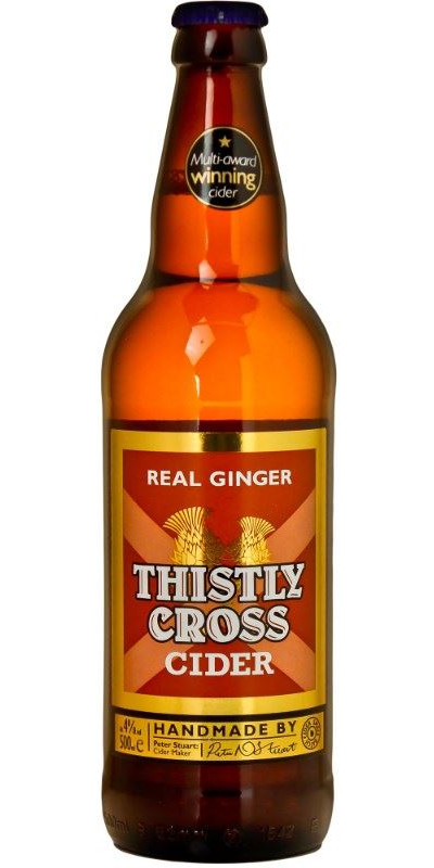 Thistly Cross Ginger Cide